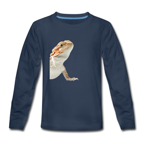 Beardy - Kids' Premium Long Sleeve T-Shirt