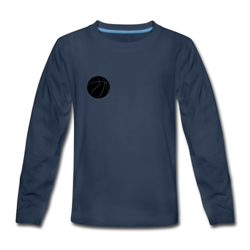 Kids Basketball T-shirt - Kids' Premium Long Sleeve T-Shirt