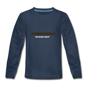 a quote - Kids' Premium Long Sleeve T-Shirt