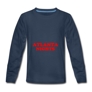ATL NIGHTS - Kids' Premium Long Sleeve T-Shirt
