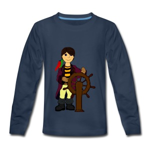 Alex the Great - Pirate - Kids' Premium Long Sleeve T-Shirt