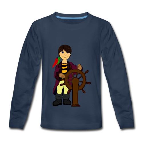 Alex the Great - Pirate - Kids' Premium Long Sleeve T-Shirt
