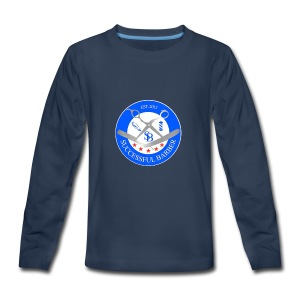 Successful Barber Seal - Kids' Premium Long Sleeve T-Shirt