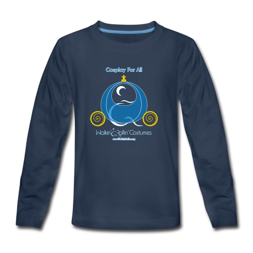Cosplay For All: Cinderella - Kids' Premium Long Sleeve T-Shirt