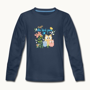 NATURE - Ellis Bird Farm - Carolyn Sandstrom - Kids' Premium Long Sleeve T-Shirt