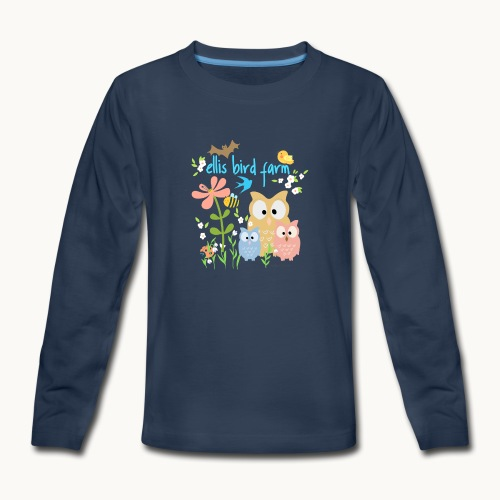 NATURE - Ellis Bird Farm - Carolyn Sandstrom - Kids' Premium Long Sleeve T-Shirt