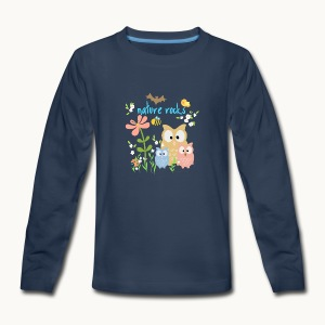 NATURE ROCKS CHILDREN Carolyn Sandstrom THR - Kids' Premium Long Sleeve T-Shirt