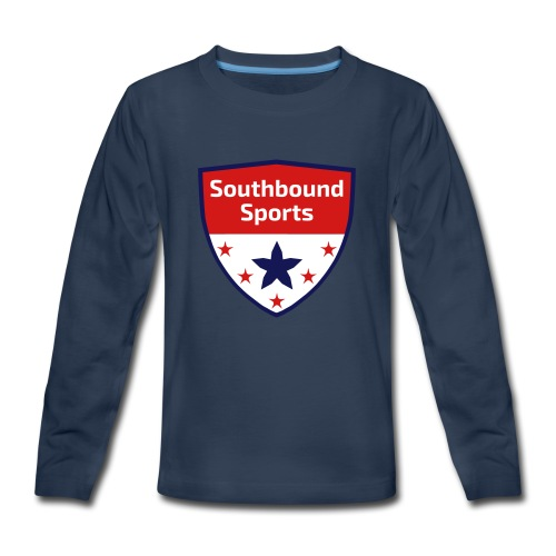 Southbound Sports Crest Logo - Kids' Premium Long Sleeve T-Shirt