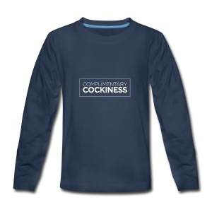 Complimentary Cockiness - Kids' Premium Long Sleeve T-Shirt