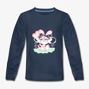 Cute lil bunny - Kids' Premium Long Sleeve T-Shirt