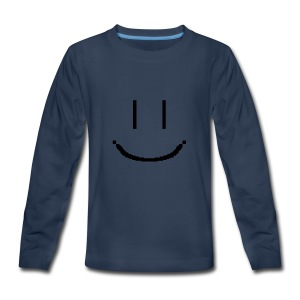 Smiley - Kids' Premium Long Sleeve T-Shirt