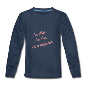 Independent Artist Gear - Kids' Premium Long Sleeve T-Shirt
