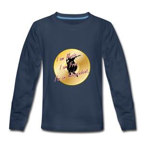 Indie Artist (Rapper/Hip Hop) - Kids' Premium Long Sleeve T-Shirt