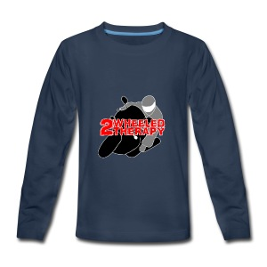 2 Wheeled Thereapy - Kids' Premium Long Sleeve T-Shirt