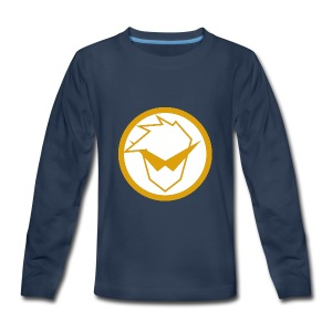 FG Phone Cases (Pure Clean Gold) - Kids' Premium Long Sleeve T-Shirt