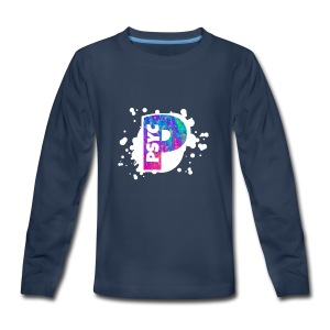 PSYC Channel Art Design - Kids' Premium Long Sleeve T-Shirt