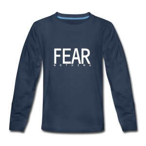 FEAR_NOTHING - Kids' Premium Long Sleeve T-Shirt