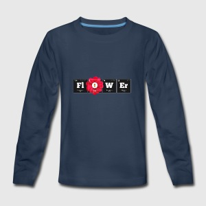 Periodic Elements: FlOWEr - Kids' Premium Long Sleeve T-Shirt