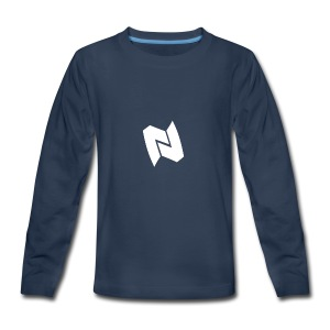 Nexa Logo - Kids' Premium Long Sleeve T-Shirt