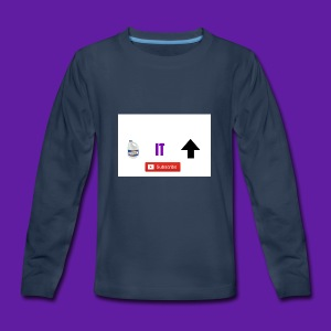 BleachItUp Apparel - Kids' Premium Long Sleeve T-Shirt