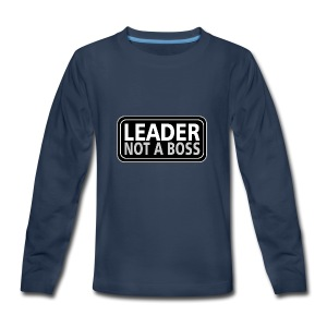 Leader - Kids' Premium Long Sleeve T-Shirt