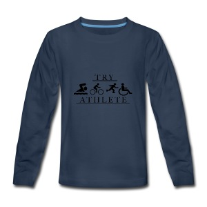 TRY ATHLETE - Kids' Premium Long Sleeve T-Shirt