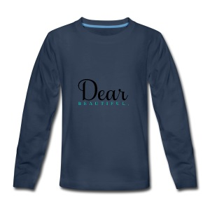 Dear Beautiful Campaign - Kids' Premium Long Sleeve T-Shirt