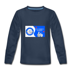 Official Successful Barber - Kids' Premium Long Sleeve T-Shirt