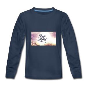 Praise The Lord T-Shirt - Kids' Premium Long Sleeve T-Shirt