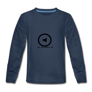 Let the music go - Kids' Premium Long Sleeve T-Shirt