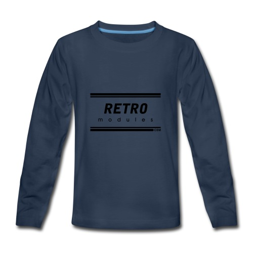 Retro Modules - Kids' Premium Long Sleeve T-Shirt