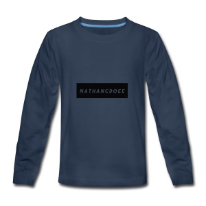 nathancdoee logo - Kids' Premium Long Sleeve T-Shirt