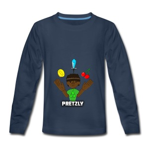 Pretzly Design - Kids' Premium Long Sleeve T-Shirt