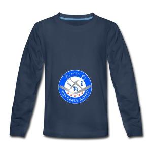 Successful Barber Seal - Kids' Premium Long Sleeve T-Shirt