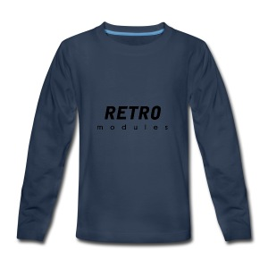 Retro Modules - sans frame - Kids' Premium Long Sleeve T-Shirt