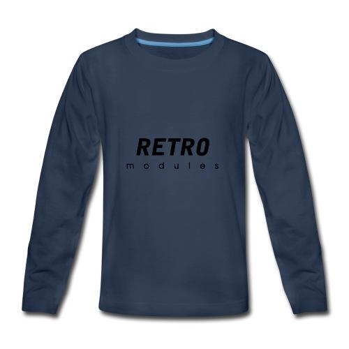 Retro Modules - sans frame - Kids' Premium Long Sleeve T-Shirt