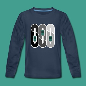 Silverman Sound Studios Logo - Kids' Premium Long Sleeve T-Shirt