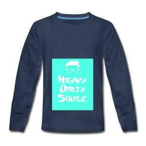 HeavyDirtySoulz Logo - Kids' Premium Long Sleeve T-Shirt