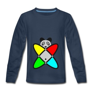 SCIENCE PANDA - Kids' Premium Long Sleeve T-Shirt