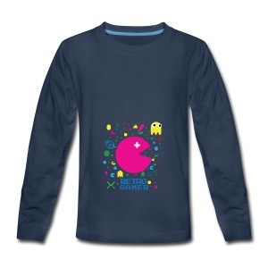 RETRO GAMER - Kids' Premium Long Sleeve T-Shirt