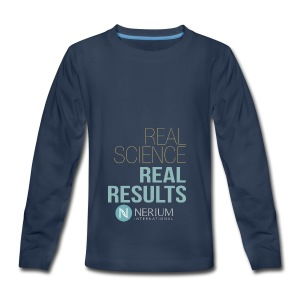 Real Science Real Results Nerium - Kids' Premium Long Sleeve T-Shirt