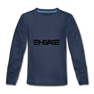 Engage-Logo-Vector - Kids' Premium Long Sleeve T-Shirt