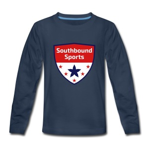 Southbound Sports Crest Logo - Kids' Premium Long Sleeve T-Shirt