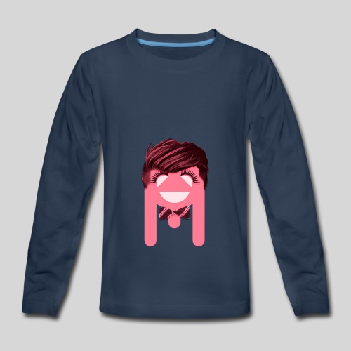 ALIENS WITH WIGS - #TeamBa - Kids' Premium Long Sleeve T-Shirt