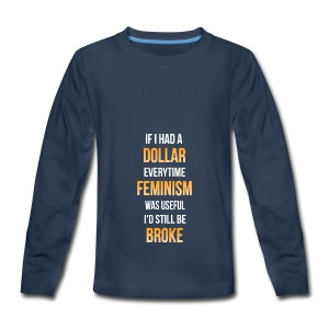 Even more broke - Kids' Premium Long Sleeve T-Shirt