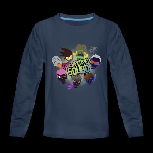 Overplayed Squad - Kids' Premium Long Sleeve T-Shirt