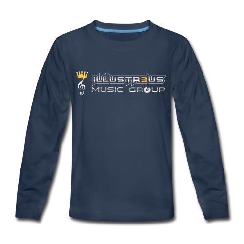 ILLUSTR3US MUSIC GROUP - Kids' Premium Long Sleeve T-Shirt