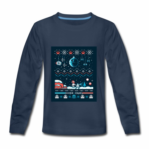 Star Wars Christmas Long Sleeve - Kids' Premium Long Sleeve T-Shirt