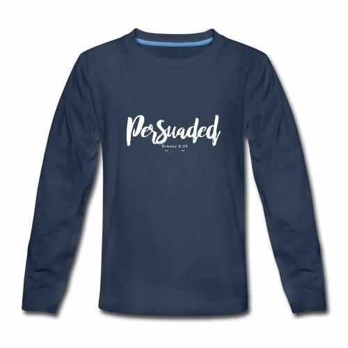 persuaded main logo - Kids' Premium Long Sleeve T-Shirt