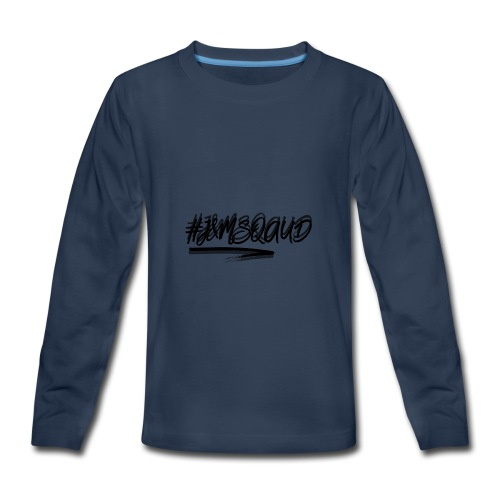 #J&MSquad Logo - Kids' Premium Long Sleeve T-Shirt